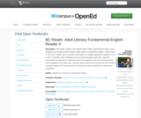 BC Reads: Adult Literacy Fundamental English - Reader 4