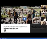 Creativity and Mentorship in the Classroom - Teaching the Spy Hop Way Webinar 1