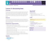 CS Discoveries 2019-2020: Data and Society Lesson 5.11: Structuring Data