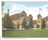 Utah Postcard Collection. Brigham Young College.
