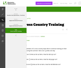 5.NF Cross Country Training