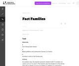 1.OA Fact Families