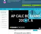 Calculus - AP Practice: BC Sample Questions