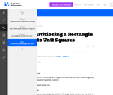 2.G Partitioning a Rectangle into Unit Squares