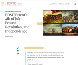EDSITEment's 4th of July: Protest, Revolution, and Independence