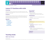 CS Fundamentals 5.17: Functions with Artist