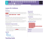 CS Discoveries 2019-2020: Interactive Animations and Games Lesson 3.18: Collisions