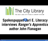Earl E. Literacy: Author John Flanagan