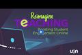 Reimagine Teaching Webinar Series: Boosting Student Engagement Online