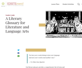 A Literary Glossary for Literature and Language Arts