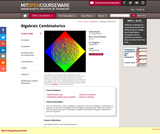 Algebraic Combinatorics, Spring 2009
