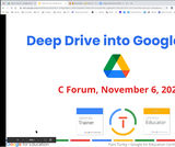CForum: Google Drive Deep Dive
