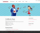 Goldilocks Sings
