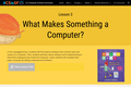 FUSD's Unplugged Computer Science K-2 Curriculum Yellow - Unit 1: Lesson 3