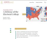 A Defense of the Electoral College