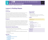 CS Discoveries 2019-2020: Interactive Animations and Games Lesson 3.2: Plotting Shapes