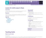 CS Fundamentals 4.13: Until Loops in Maze