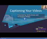 Caption Your Videos