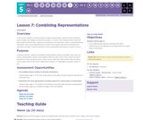 CS Discoveries 2019-2020: Data and Society Lesson 5.7: Combining Representations