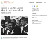 Lesson 1: Martin Luther King, Jr. and Nonviolent Resistance