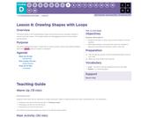 CS Fundamentals 4.8: Drawing Shapes with Loops