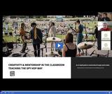 Creativity and Mentorship in the Classroom - Teaching the Spy Hop Way Webinar 3