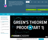 Calculus - Line Integrals and Green's Theorem: Green's Theorem