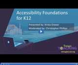 Reimagine Teaching: Accessibility Foundations for K-12