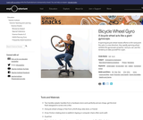 Bicycle-Wheel Gyro