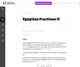 A-APR Egyptian Fractions II
