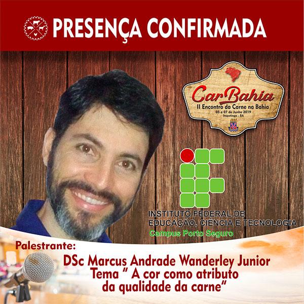 DSc Marcus Andrade Wanderley Junior