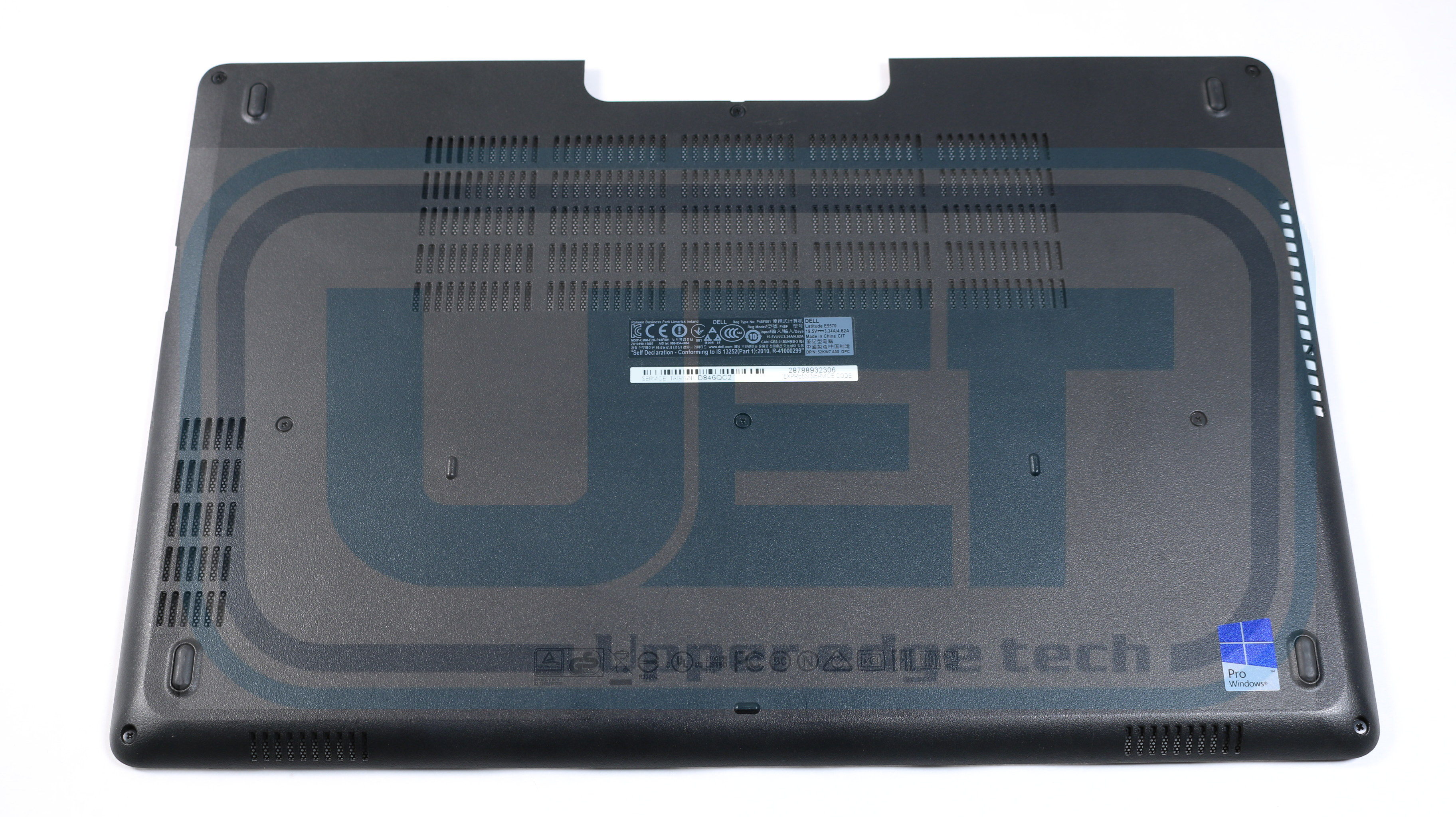 Details about Dell Latitude E5570 Laptop Base Bottom Case 7PVX3 Grade B  Tested Warranty