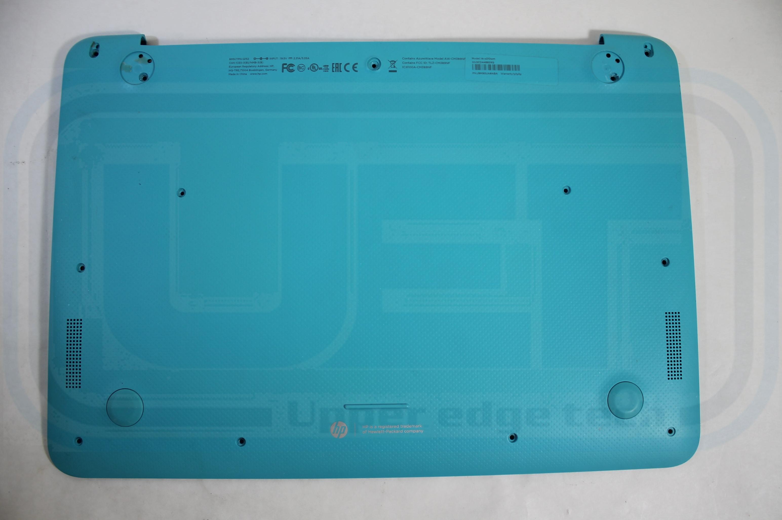 HP Laptop Base 787697-001 Blue Chromebook 14-X010WM Grade B