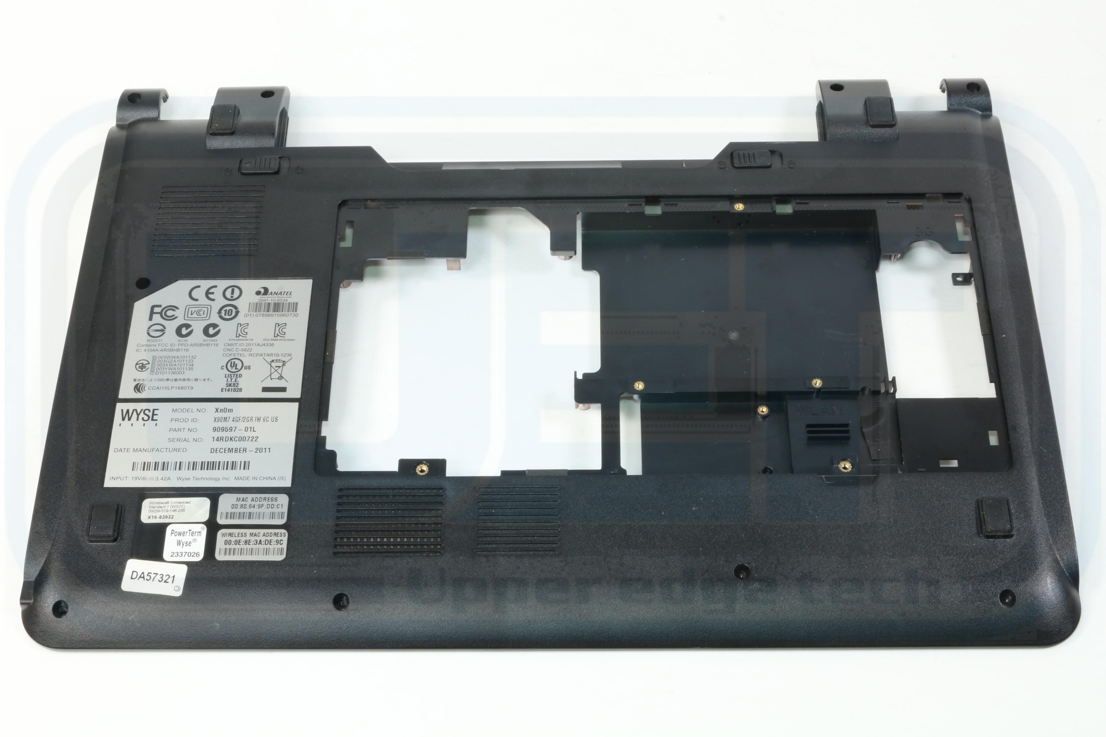 Unavailable Laptop Base Bottom Case 60.GPZN7.002 Grade B Tested Warranty