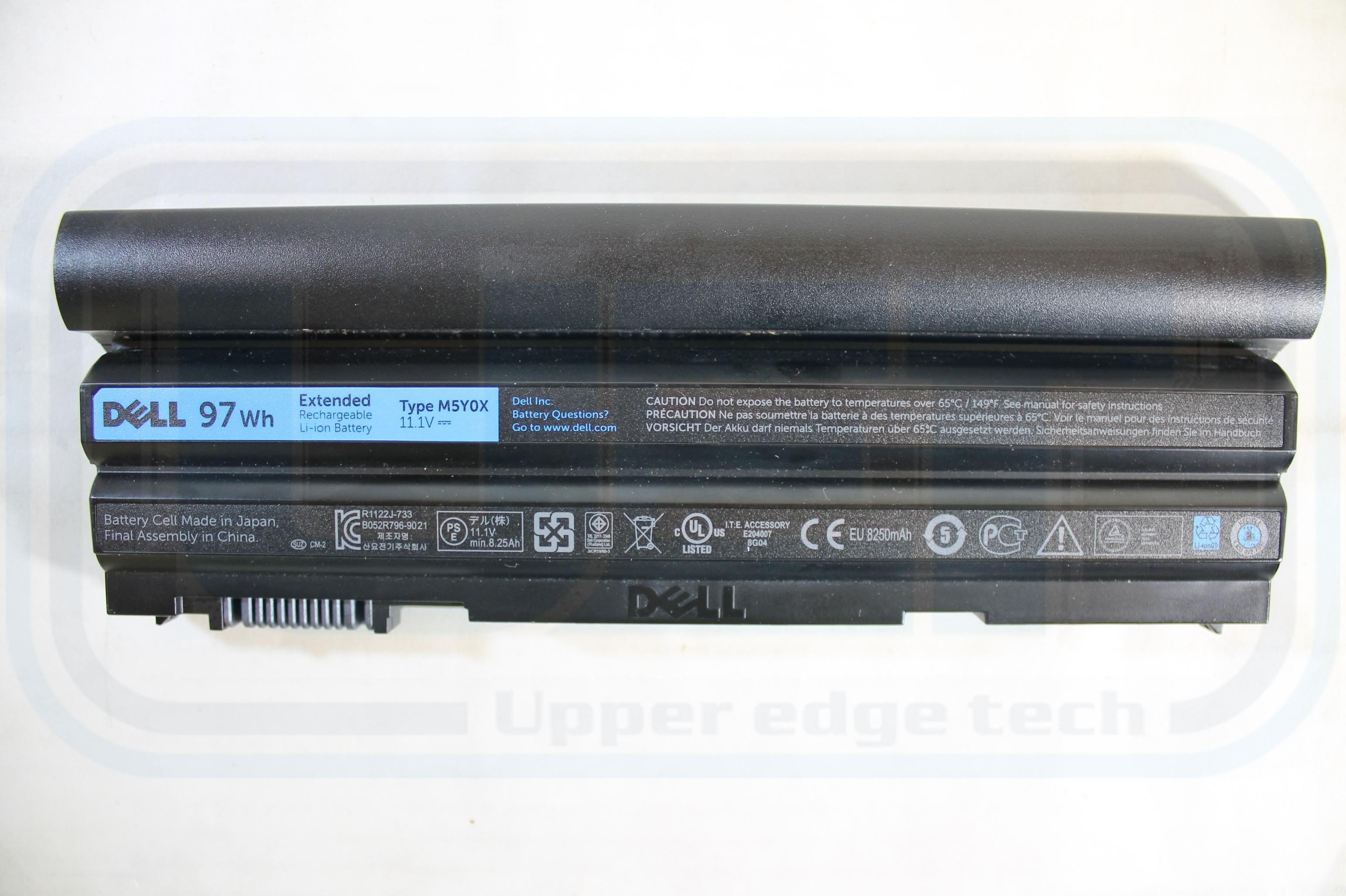 Dell OEM Genuine Battery NY38W 9 Cell 97 WHr 8250 Latitude E6430 E6420 E5