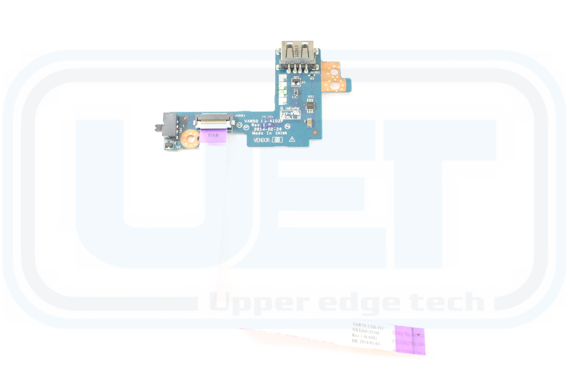 Dell Latitude E5540 F15G3 USB Wireless Sniffer Wifi Switch Board LS-A102P