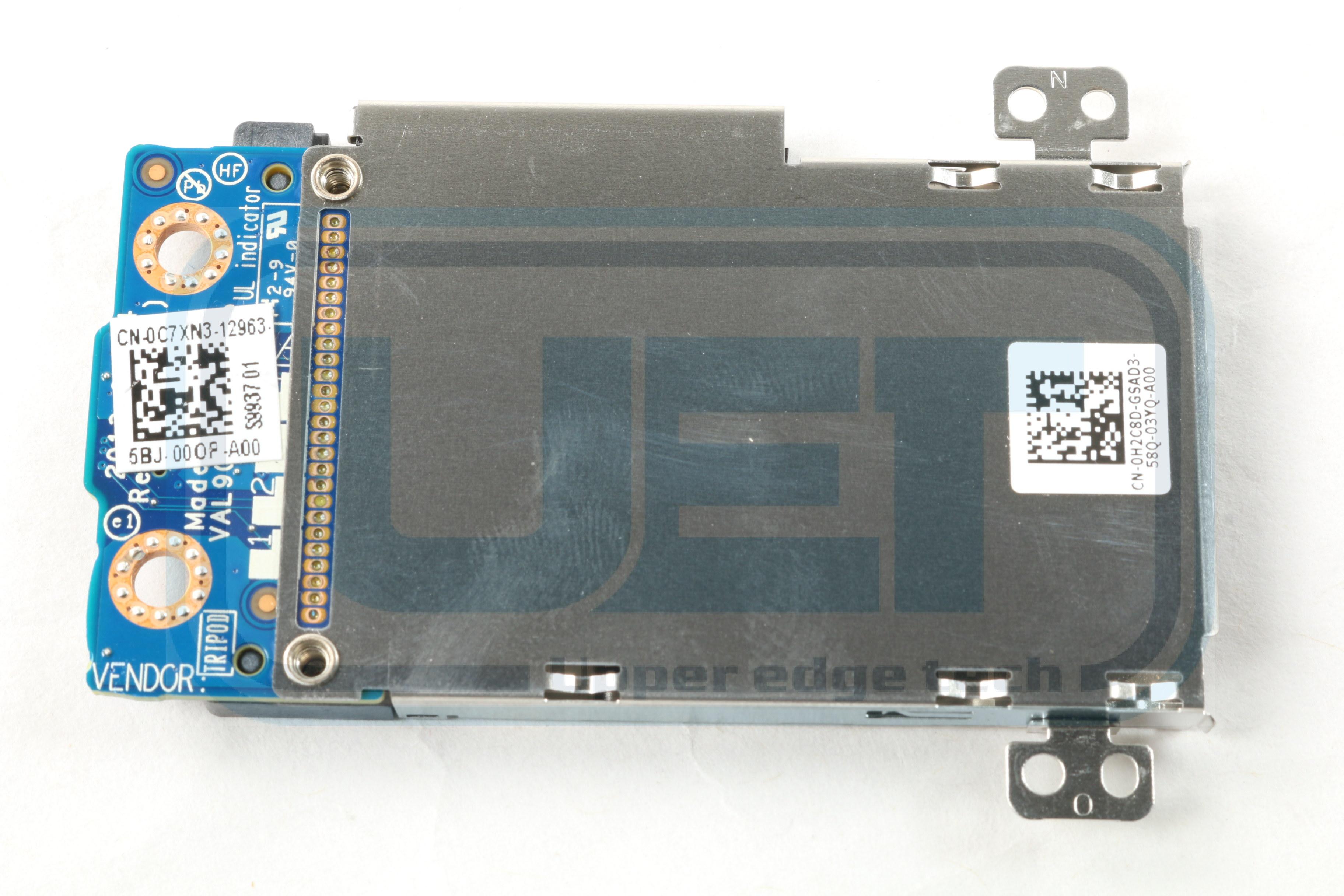 Dell Latitude E6440 C7XN3 EC Express Card Slot & Cage Board H2C8D