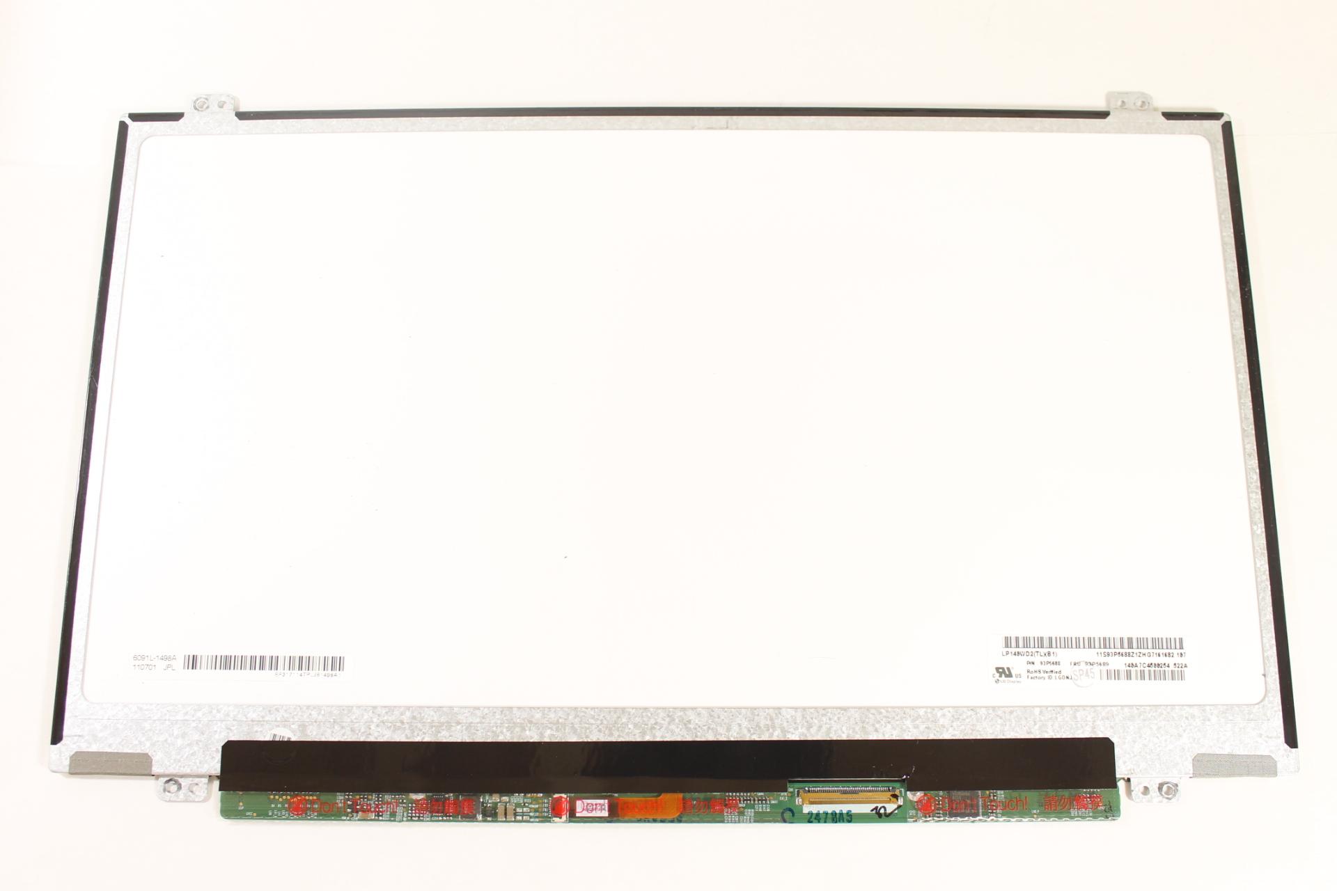 Dell Thinkpad T420 LCD Screen LED 93P5688 WXGA+ 14