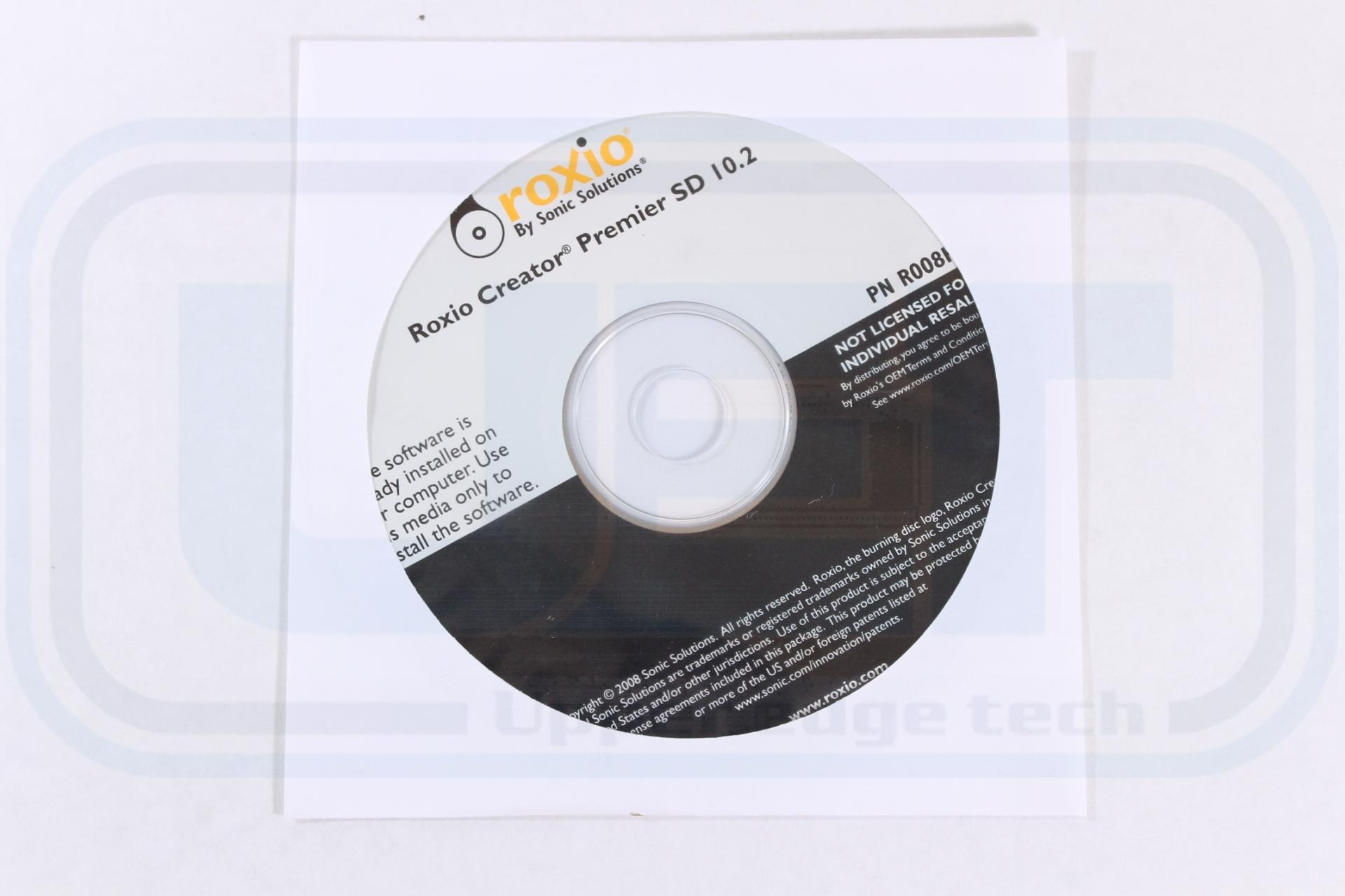 Amazon. Com: dell roxio creator de 10. 2 reinstallation cd p/n.