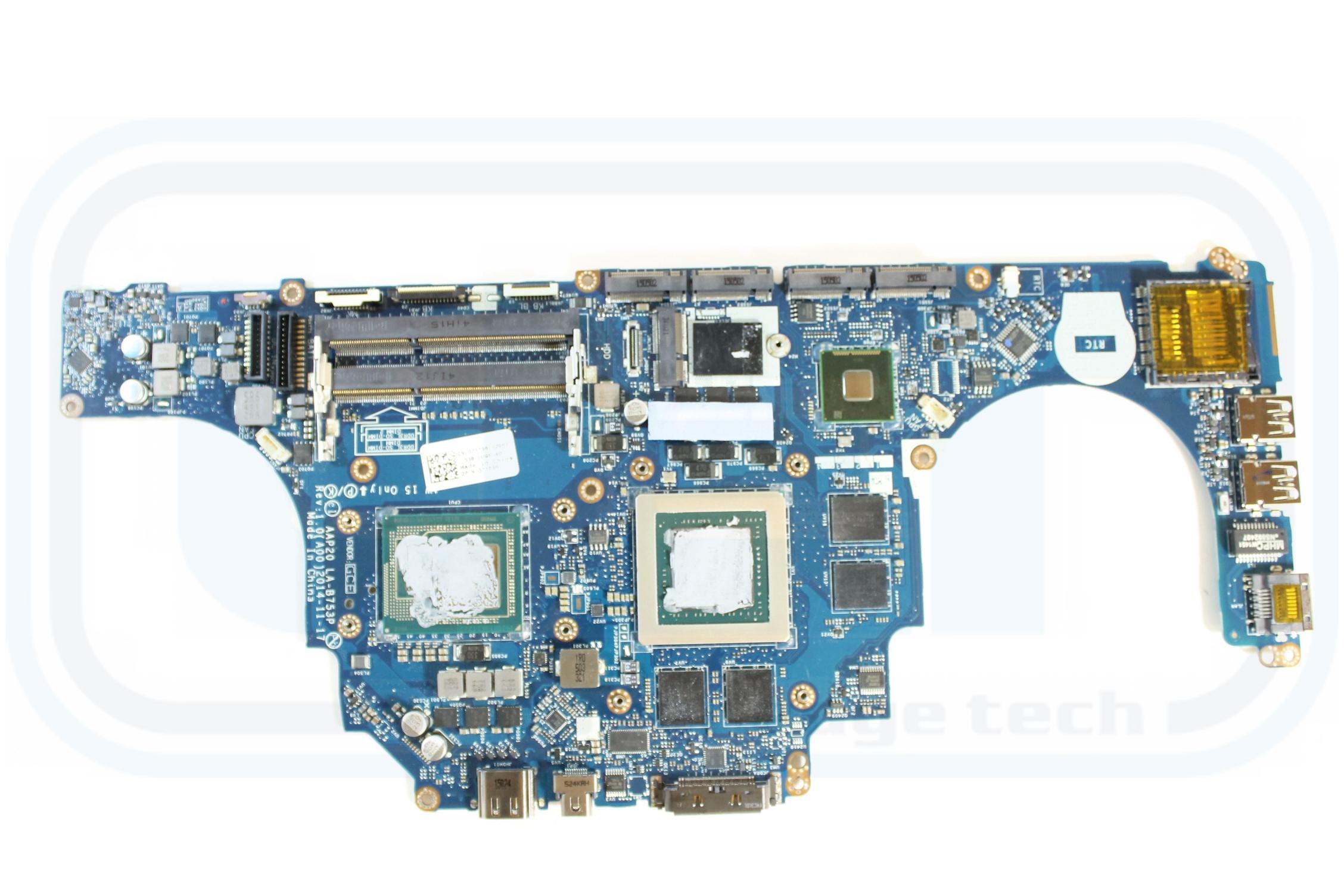 Dell Motherboard nVidia 4 GB i7 4980HQ 2 8 GHz 71T46 Alienware 17 R2