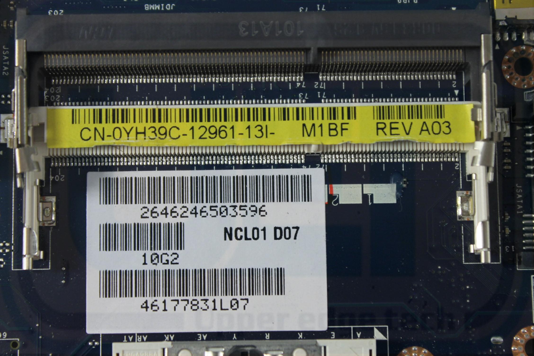 Upper Edge Technology Dell Latitude E6410 Motherboard Yh39c Nvidia