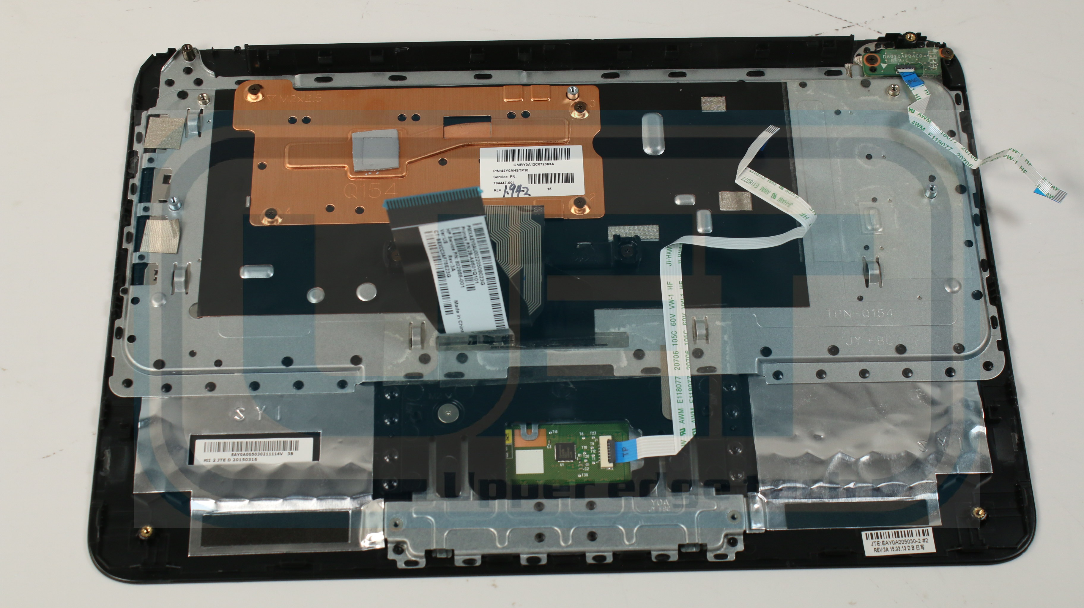 Acer Aspire E1-572 Laptop Base Bottom Case 60.M8EN2.002 Grade B Tested Warranty