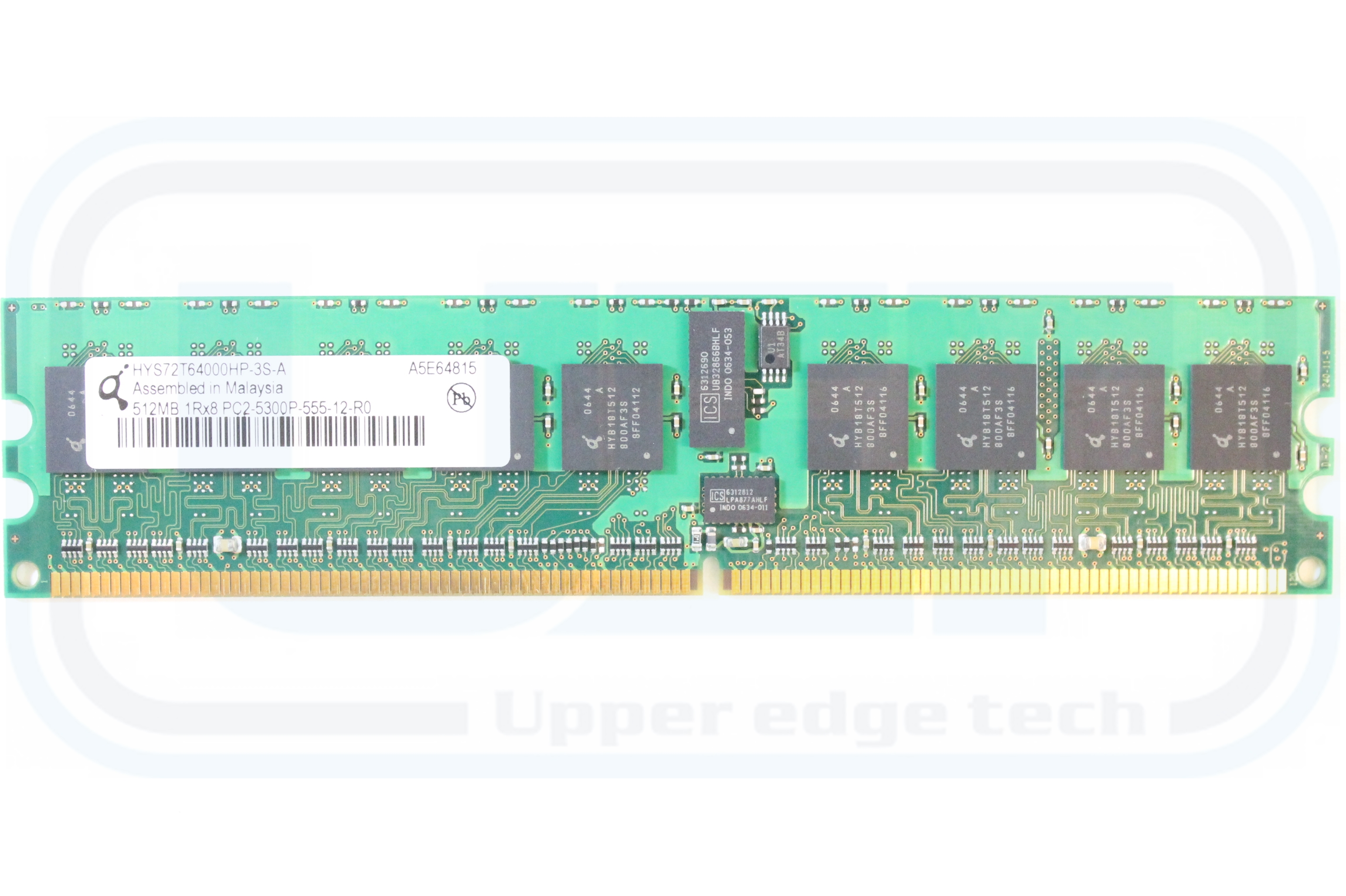 Upper Edge Technologies Server Same Day Shipping Ram Sodimm Ddr2 512mb Product Description