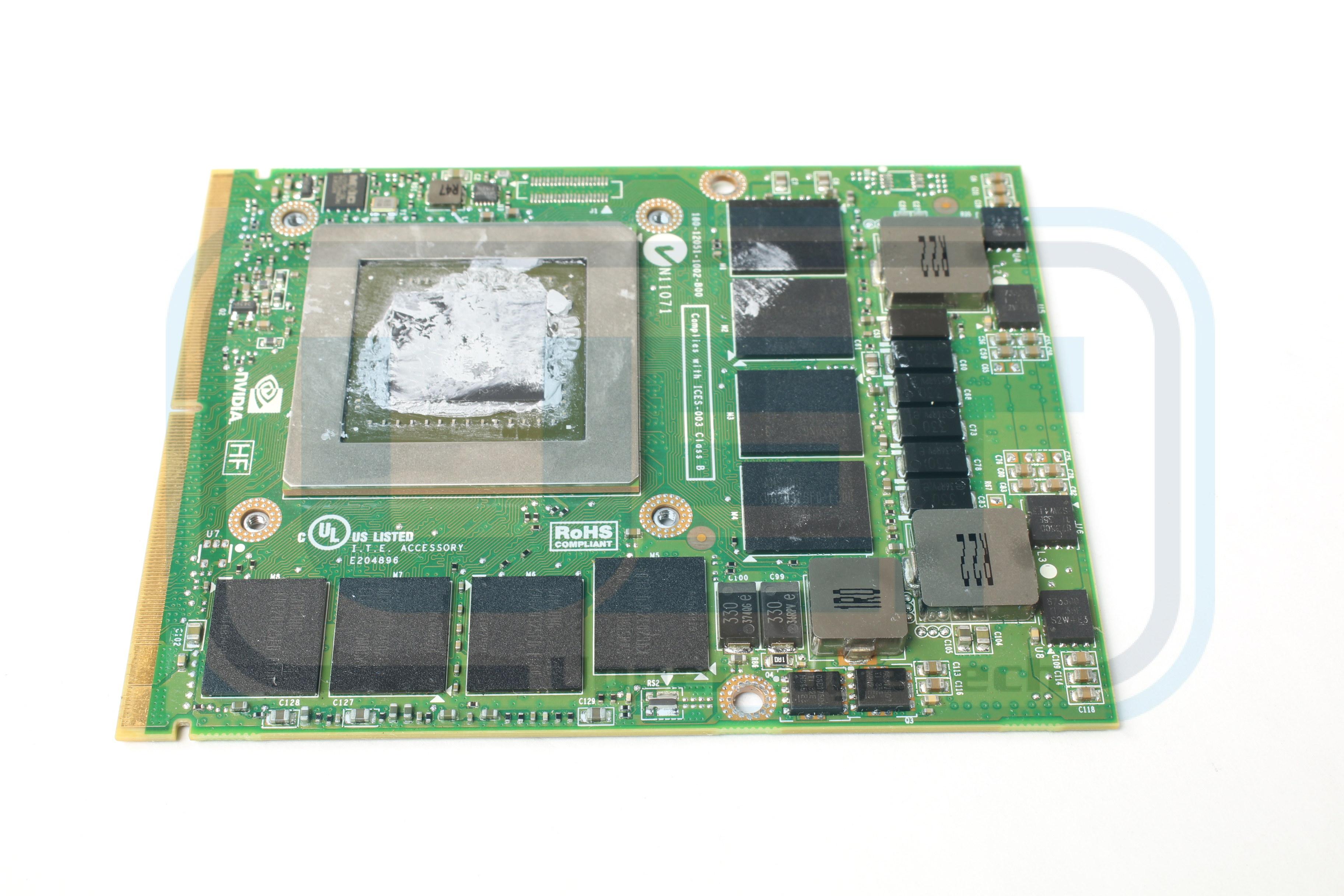 HP Elitebook 8770w Video Graphics Card GPU 689281-001 NVIDIA