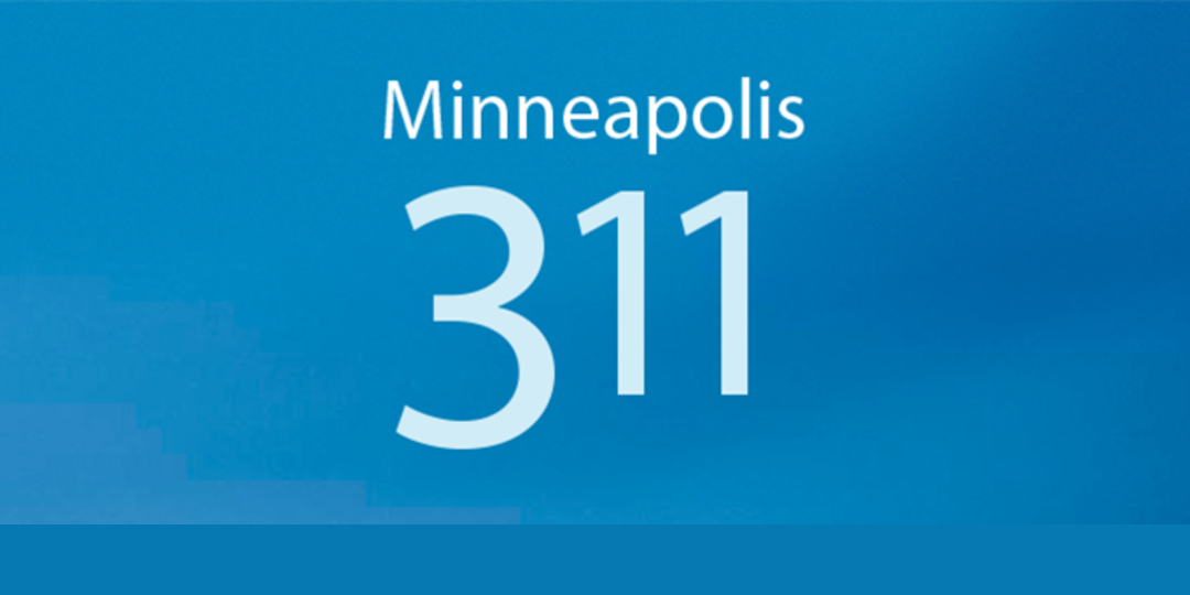 Logo for City of Minneapolis