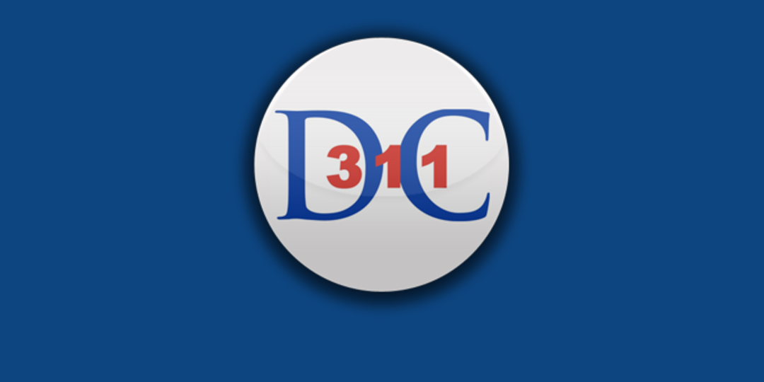 Logo for Washington, DC (DC 311)