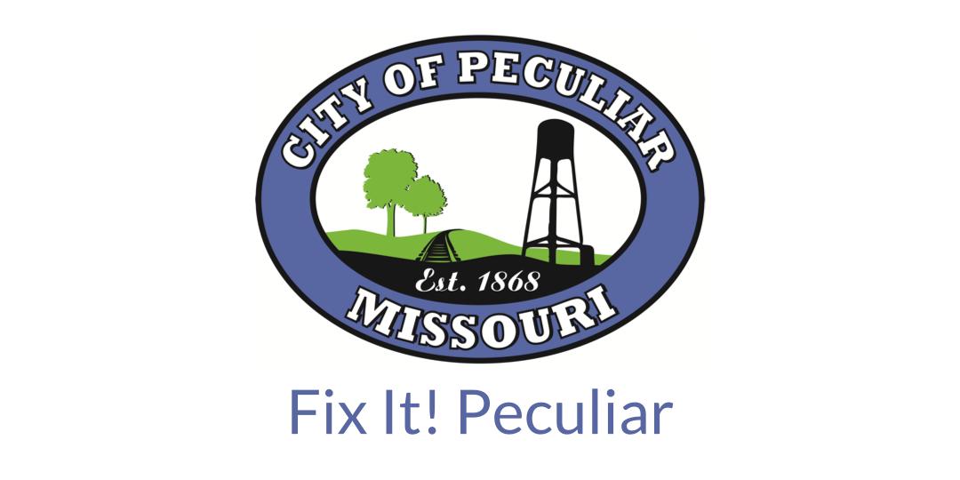 Logo for Peculiar, MO