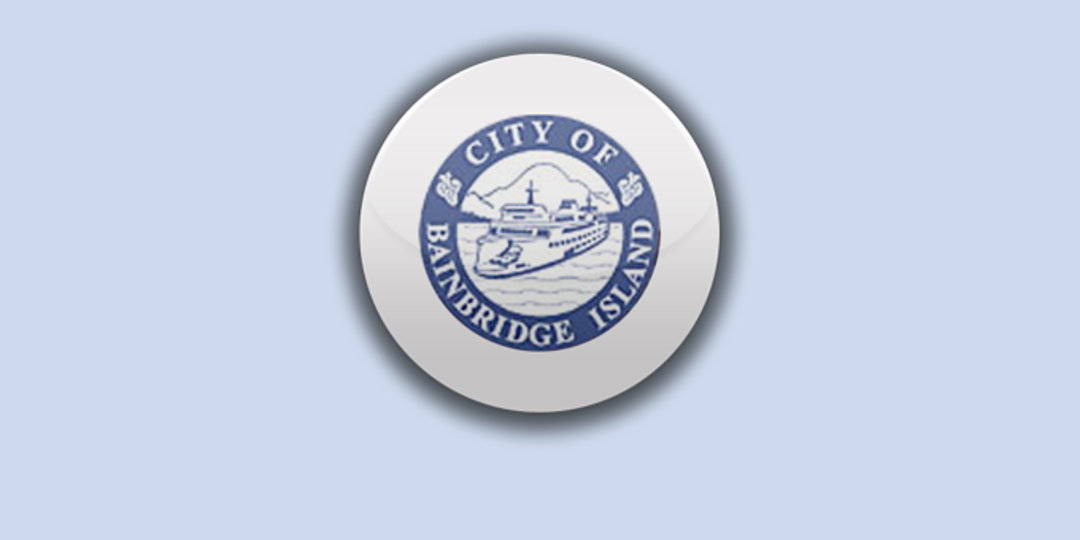 Logo for City of Bainbridge Island