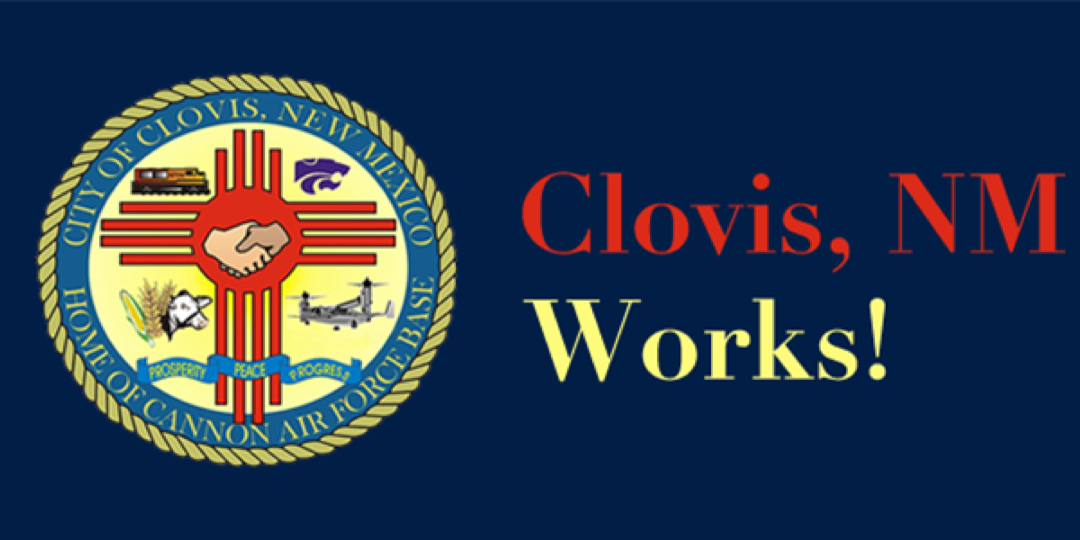 Logo for Clovis, NM