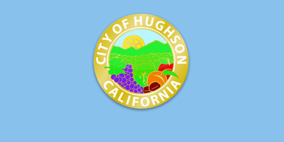 Logo for City of Hughson